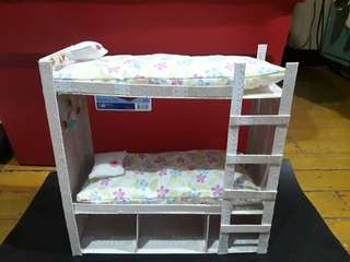 DIY barbie bunk bed