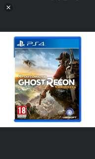 PS4 Ghost Recon Wildlands