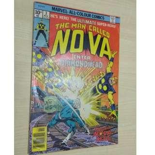 Nova Vol. 1 # 3 - 1st appearance Diamondhead