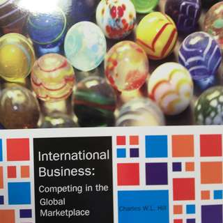 International Business: Competing in the global marketpalce