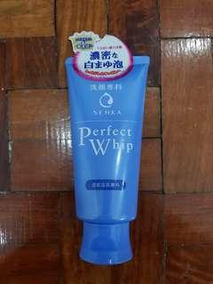 Shiseido's Perfect Whip (Makeup Wash/Gel type)