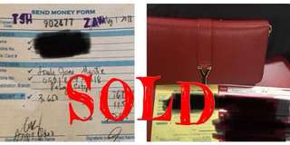 Sold items
