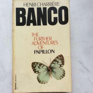 Banco by Henri Charriere