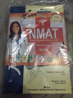 NMAT reviewer book set