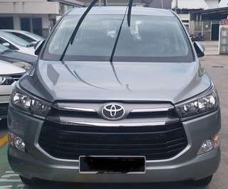 SAMBUNG BAYAR/CONTINUE LOAN  TOYOTA INNOVA G SPEC AUTO 2.0 YEAR 2018 MONTHLY RM 1160 BALANCE 9 YEARS ROADTAX VALID NEW CONDITION  DP KLIK wasap.my/60133524312/innova