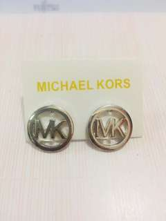 Micheal Kors MK logo Earrings