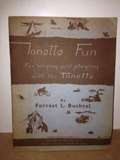 Tonette Fun - Forrest L. Buchtel 1938 (sheet music)