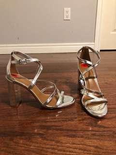 Brand new H Halston orig $189.99 heels