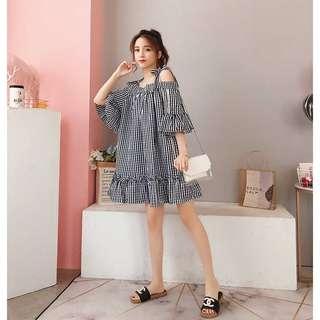Plus Size Trendy Checker Dress [PO]