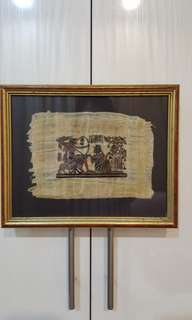 Hand painted Egypt Ancient Papyrus