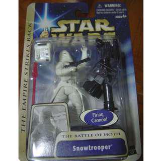 Star Wars, Battle of Hoth Snowtrooper. Mint On Card.