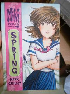Miki Falls: Spring (Manga by Mark Crilley)