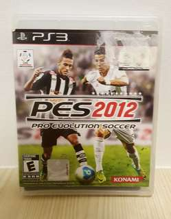 🚚 [Clearance] PS3 PES 2012