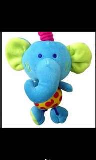 Baby elephant music toy