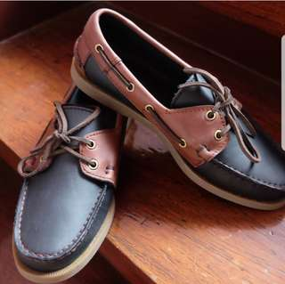 Genuine Leather Boat Shoes