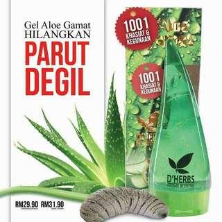 Gel Aloe Gamat D'Herbs