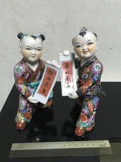 Porcelain Figurine 1 pair
