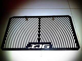 Yamaha xj6 radiator guard
