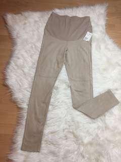 NEW H&M Maternity Suede Legging Pants