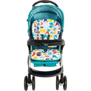 Graco Mirage Stroller walking Into The Woods