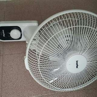掛牆電風扇 hanged electric fan 90%new