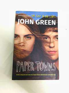 'PAPER TOWNS' BY JOHN GREEN