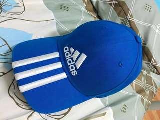 adidas棒球老帽藍色