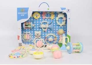 [FREE MAIL] Newborn Toys Gift Set