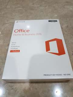Microsoft Office Home & Business 2016 for Mac (Brand New)