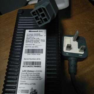 Original Xbox 360 Fat power brick adapter