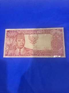 Uang hidup Soekarno 1964