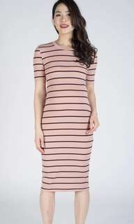 *XL Size* Gwen Knitted Bodycon Nursing Dress