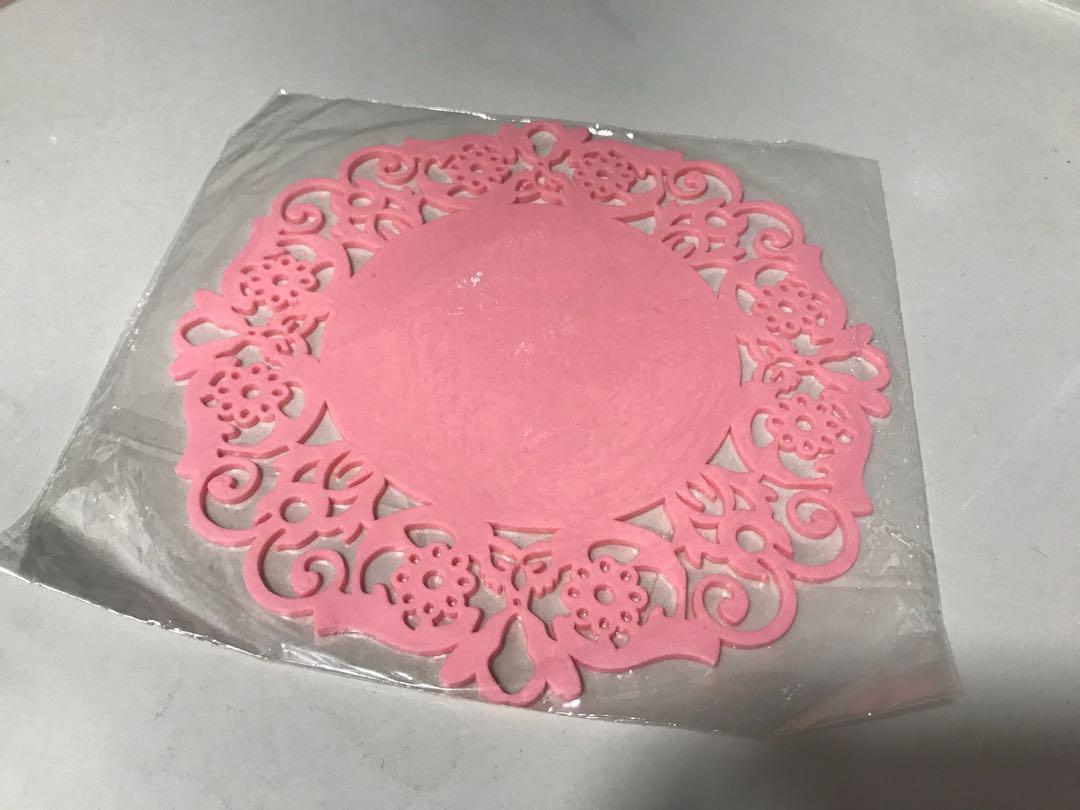 杯墊🍵煲墊🍳🎀粉紅色🎀