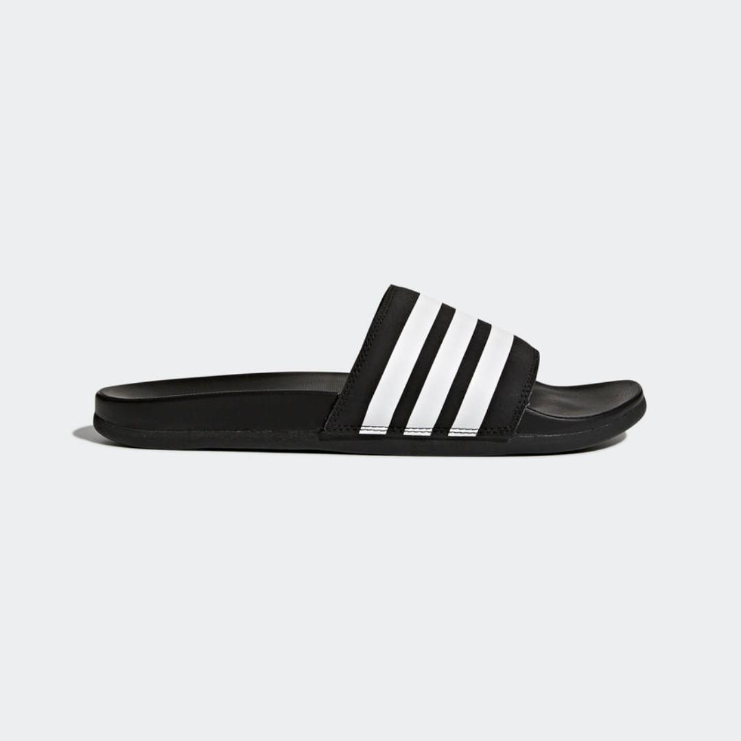 6b553a33c59d Adidas Adilette Cloudfoam Plus Stripes Slides AP9971