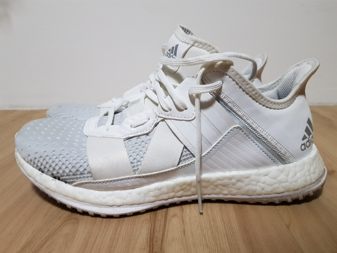 hot sale online 79357 2ff09 Adidas Pure Boost White, Mens Fashion, Footwear, Sneakers on