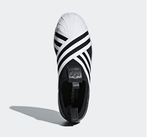 b045b28807 Adidas Superstar Slip-on Core black Cloud White