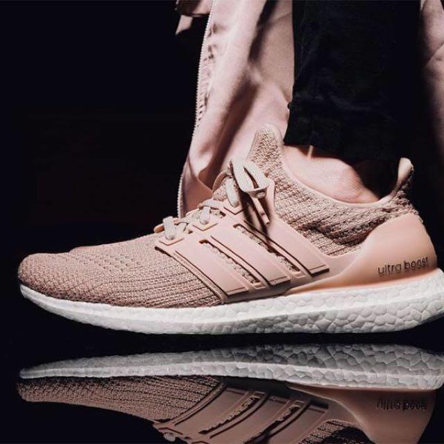 "a784d8f910e75 Adidas Ultra Boost 4.0 ""Champagne Pink"""