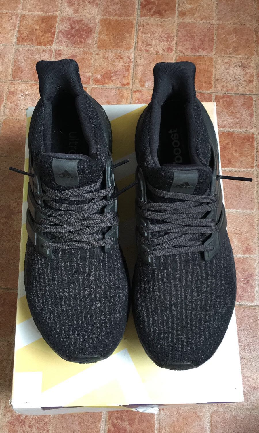 0d5ce637ec9db Adidas Ultra Boost Triple Black 3.0