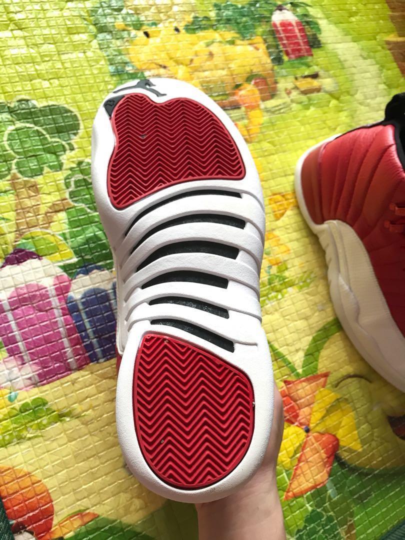 3e3ac0893b4 Air Jordan 12 Gym Red, Men's Fashion, Footwear on Carousell