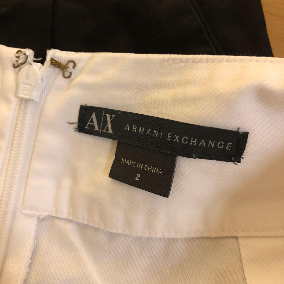 Armani exchange skirts sz2 (6-8)