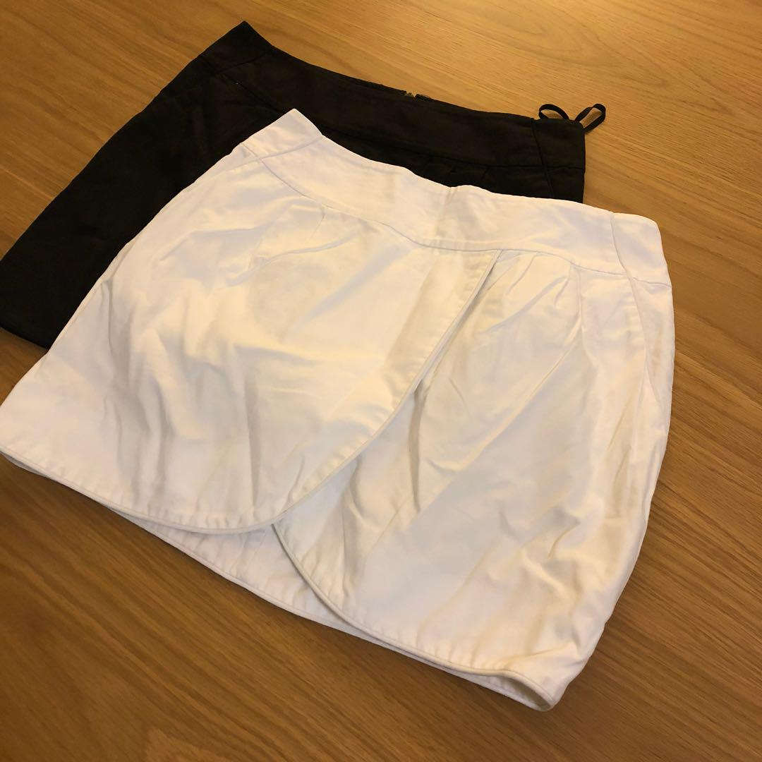 Armani exchange skirts sz2 (6-8)