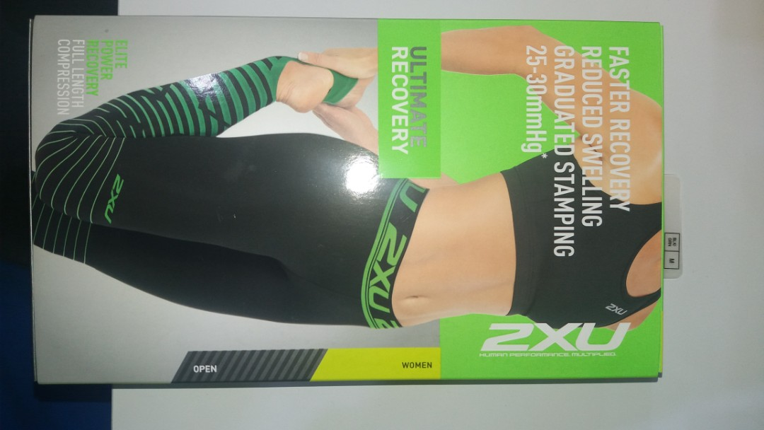 fc4b7dfb4fa Authentic 2XU recovery compression tights(Womens)