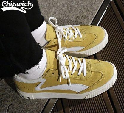 135b31414ce3 Chiswick mustard sneaker
