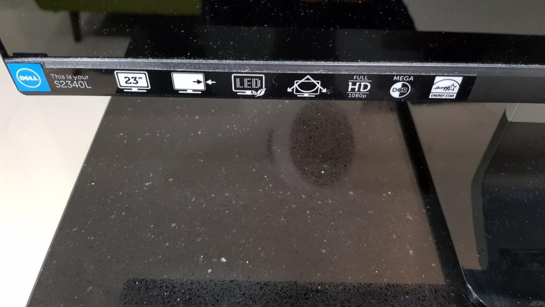 Dell Monitor S2340Lc LCD Monitor