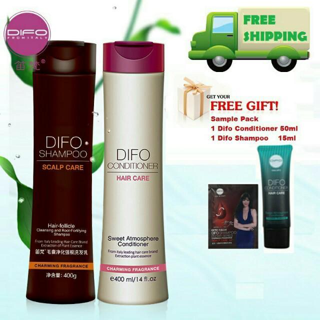 笛梵Difo Scalp Care Shampoo & Conditioner (100% 正品)(Free Sample While Stock Finish)