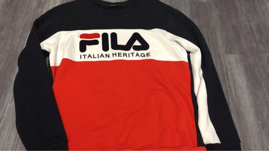 """Fila Pullover """"Italian Heritage"""", Men's Fashion, Clothes ..."""