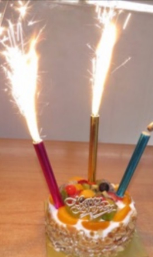 Fireworks Sparkles Special Birthday Candle Everything Else On Carousell