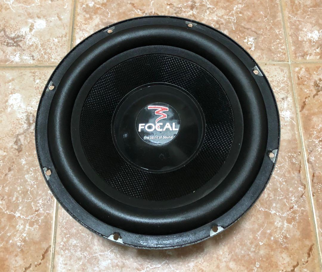 Focal 10 inch woofer