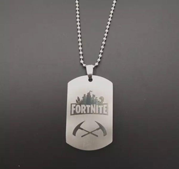 Fortnite Stainless Steel Necklace