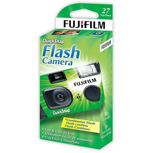 FUJIFILM Disposable Camera 35mm QuickSnap 27 shots